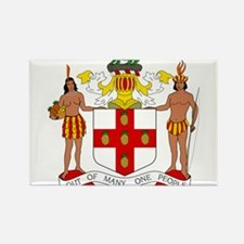 Jamaica Coat Of Arms s Magnets