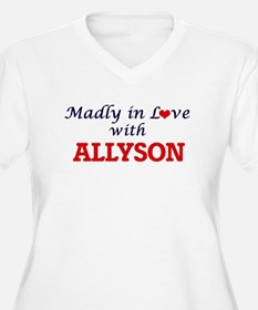Madly in Love with Allyson Plus Size T-Shirt