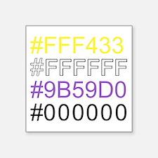 Non-Binary Geek Pride Sticker