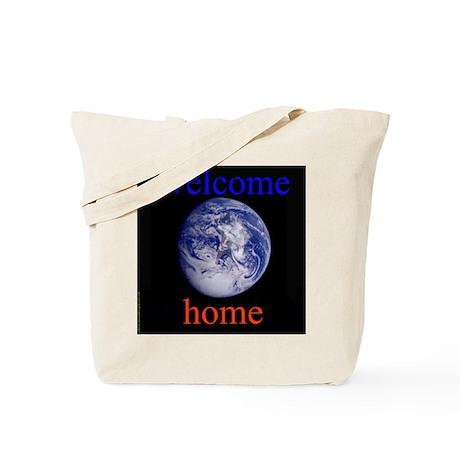 338.welcome home Tote Bag