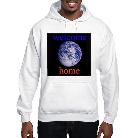 338.welcome home Hooded Sweatshirt