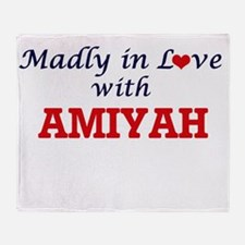 Madly in Love with Amiyah Throw Blanket