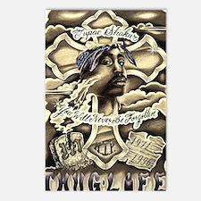 Tupac Memorial Postcards (Package of 8)