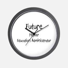 Future Higher Education Administrator Wall Clock