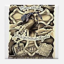 Tupac Memorial Tile Coaster