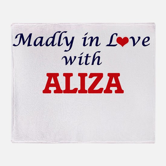 Madly in Love with Aliza Throw Blanket