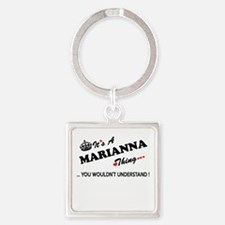 MARIANNA thing, you wouldn't understand Keychains