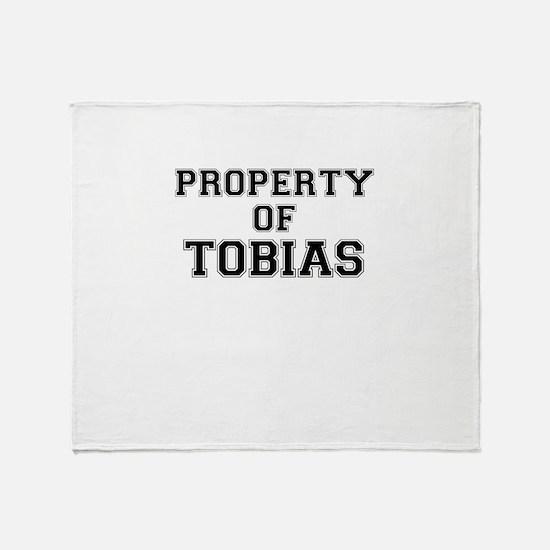 Property of TOBIAS Throw Blanket