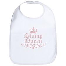 Stamp Queen Bib