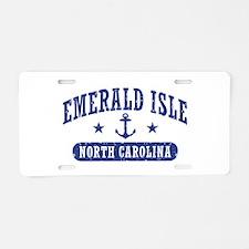 Emerald Isle NC Aluminum License Plate