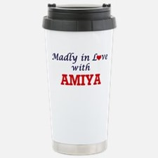 Madly in Love with Amiy Stainless Steel Travel Mug