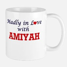 Madly in Love with Amiyah Mugs