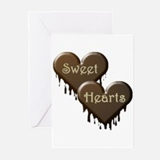 Chocolate Sweethearts Greeting Cards (Pk of 10)