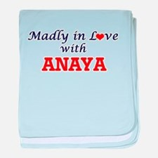 Madly in Love with Anaya baby blanket