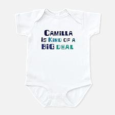 Camilla is a big deal Infant Bodysuit