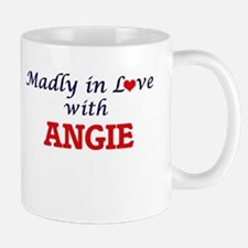 Madly in Love with Angie Mugs