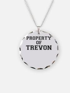 Property of TREVON Necklace