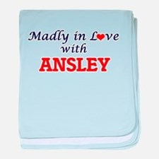 Madly in Love with Ansley baby blanket