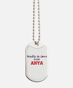 Madly in Love with Anya Dog Tags
