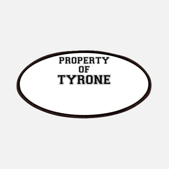 Property of TYRONE Patch