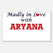 Madly in Love with Aryana Decal