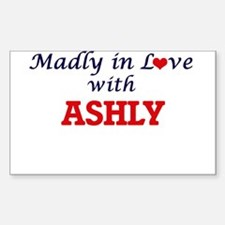 Madly in Love with Ashly Decal