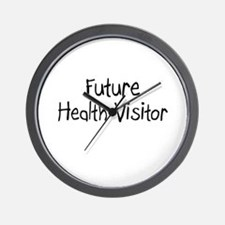 Future Health Visitor Wall Clock