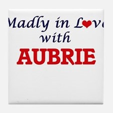 Madly in Love with Aubrie Tile Coaster