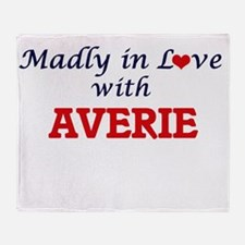 Madly in Love with Averie Throw Blanket