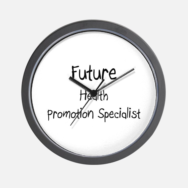 Future Health Promotion Specialist Wall Clock