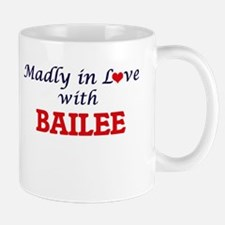 Madly in Love with Bailee Mugs