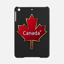 Red and Gold Canada Maple Leaf iPad Mini Case