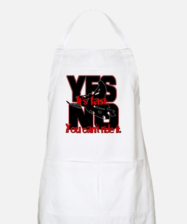 Yes It's Fast - No You Can't Apron