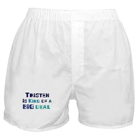 Tristen is a big deal Boxer Shorts