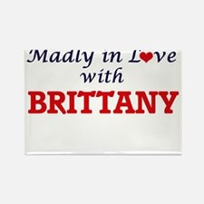 Madly in Love with Brittany Magnets