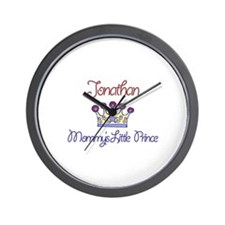 Jonathan - Mommy's Little Pri Wall Clock