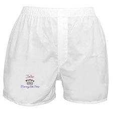Jordan - Mommy's Little Princ Boxer Shorts