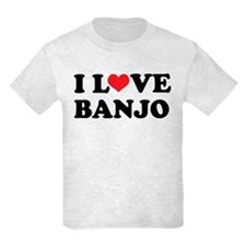 I Love Banjo T-Shirt