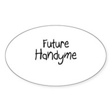 Future Handyme Oval Decal