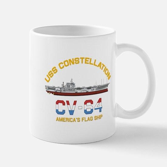 America's Flag Ship Mugs
