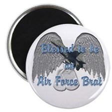 """Blessed Air Force Brat 2.25"""" Magnet (10 pack)"""