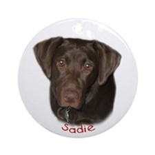 Sadie Ornament (Round)