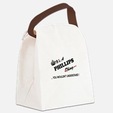 PHILLIPS thing, you wouldn't unde Canvas Lunch Bag