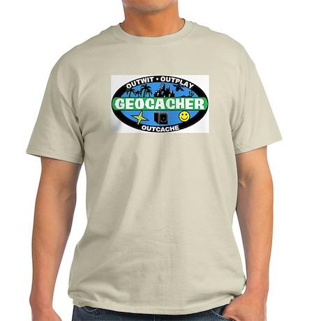 Geocacher Ash Grey T-Shirt