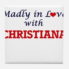 Madly in Love with Christiana Tile Coaster