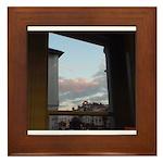 Sunset, Tunbridge Wells Framed Tile