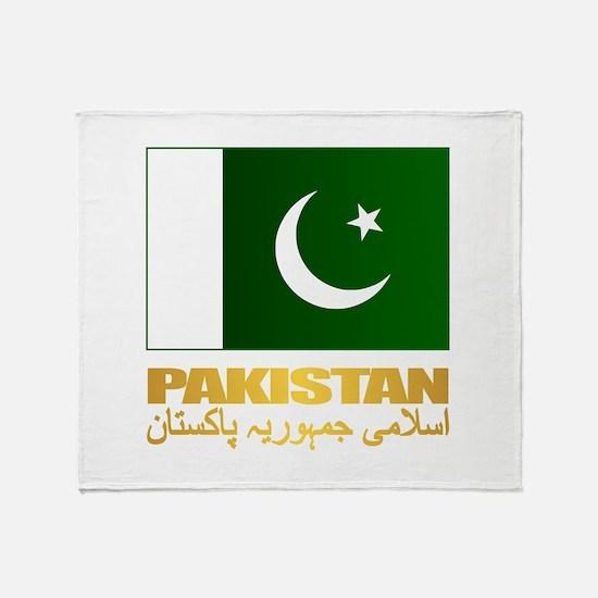 Pakistan Throw Blanket