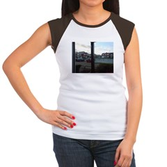 Suburbian Skies Women's Cap Sleeve T-Shirt