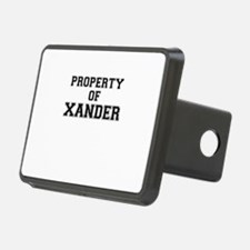 Property of XANDER Hitch Cover