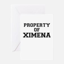Property of XIMENA Greeting Cards